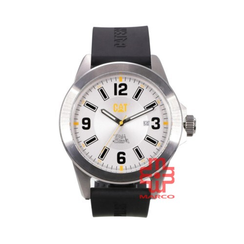 [Pre-sales]CAT SPECIAL PROJECT 2017 05-141-21-232 SILVER STAINLESS STEEL STRAP MEN WATCH