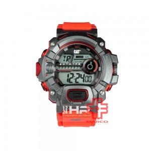 CAT 1A Series Digital Red 1A-187-28-241 PU Strap Watch