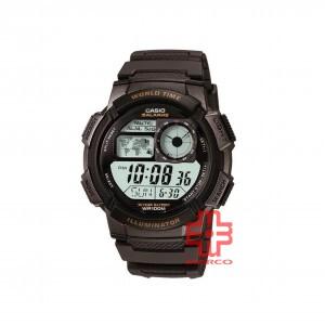 Casio General AE-1000W-1A Black Resin Band Men Sports Watch