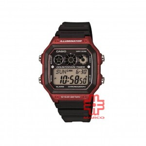 Casio General AE-1300WH-4A Black Resin Band Men Watch