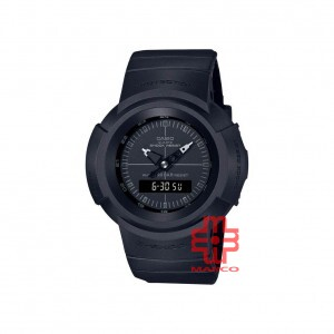 Casio G-Shock AW-500BB-1E Black Resin Band Men Sports Watch