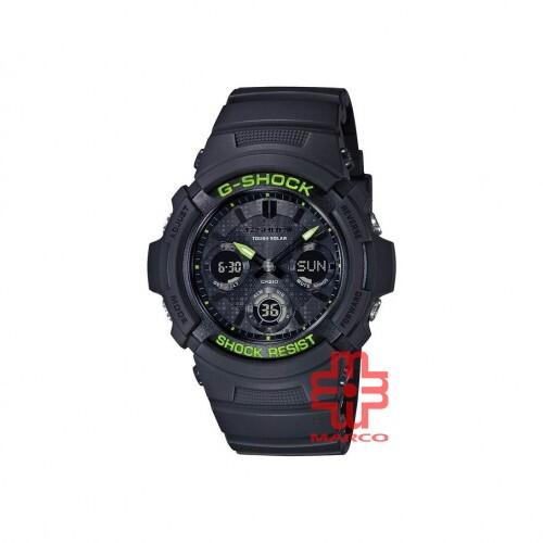 Casio G-Shock AWR-M100SDC-1A Black Resin Band Men Sports Watch
