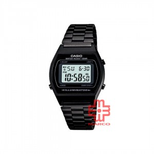 Casio General B640WB-1A Black Stainless Steel Unisex Watch
