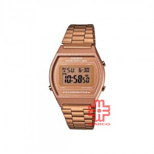 Casio General B640WC-5A Rose Gold Stainless Steel Band Women Watch