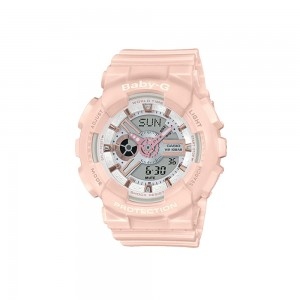 Casio Baby-G BA-110RG-4A Pastel Pink Resin Band Women Sport Watch