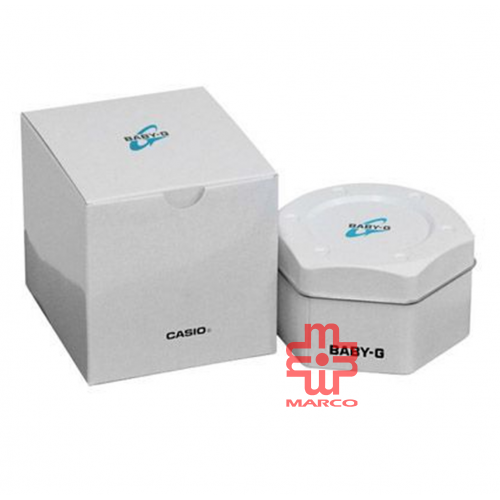 Casio Baby-G BA-130-7A1 White Resin Band Women Watch