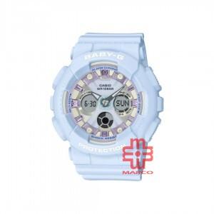 Casio Baby-G BA-130WP-2A Blue Resin Band Women Sports Watch