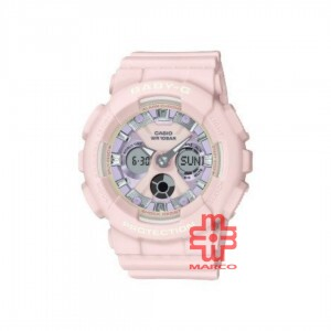 Casio Baby-G BA-130WP-4A Pink Resin Band Women Sports Watch
