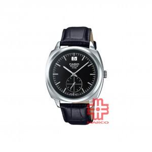 Casio General BEM-150L-1A Black Leather Band Men Watch