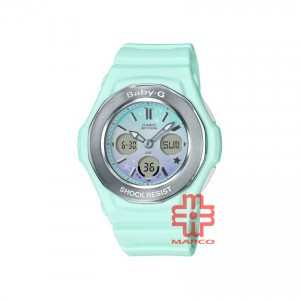 Casio Baby-G  BGA-100ST-3A Pastel Green Women Sports Watch