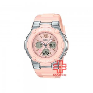 Casio Baby-G BGA-110BL-4B Light Pink Resin Band Women Sports Watch