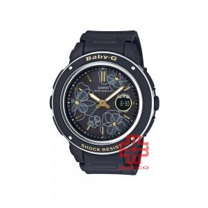 Casio Baby-G BGA-150FL-1A Black Resin Band Women Sport Watch