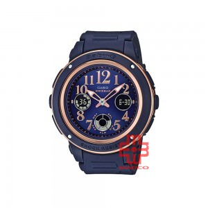 Casio Baby-G BGA-150PG-2B2 Blue Resin Band Women Sports Watch