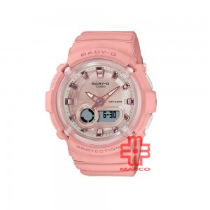 Casio Baby-G BGA-280-4A Coral Pink Resin Band Women Sports Watch