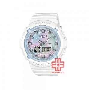 Casio Baby-G BGA-280-7A White Resin Band Women Sports Watch