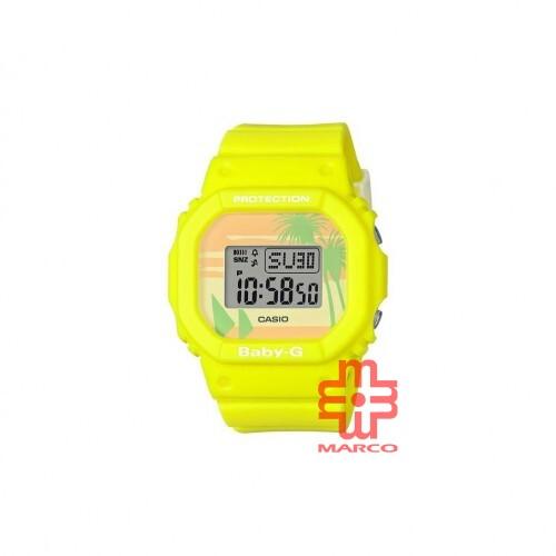 Casio Baby-G BGD-560BC-9 Yellow Resin Band Women Sports Watch
