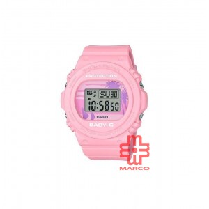 Casio Baby-G BGD-570BC-4 Pink Resin Band Women Sports Watch