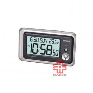 Casio DQ-748-8 Silver Desk Top Digital Clock