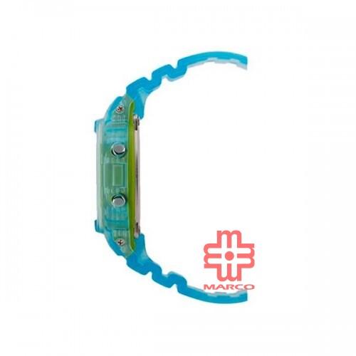 Casio G-Shock DW-5600LS-2 Blue Resin Band Men Sports Watch