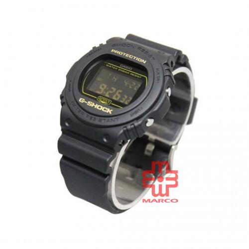 Casio G-Shock DW-5700BBM-1 Black Resin Band Men Watch