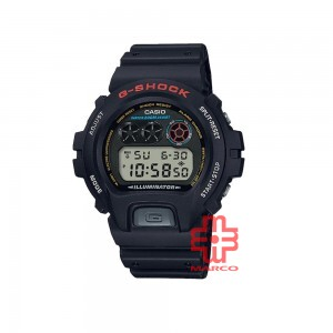 Casio G-Shock DW-6900-1 Black Men Resin Band Watch