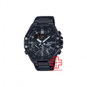 Casio Edifice ECB-10DC-1A Black Stainless Steel Band Men Watch