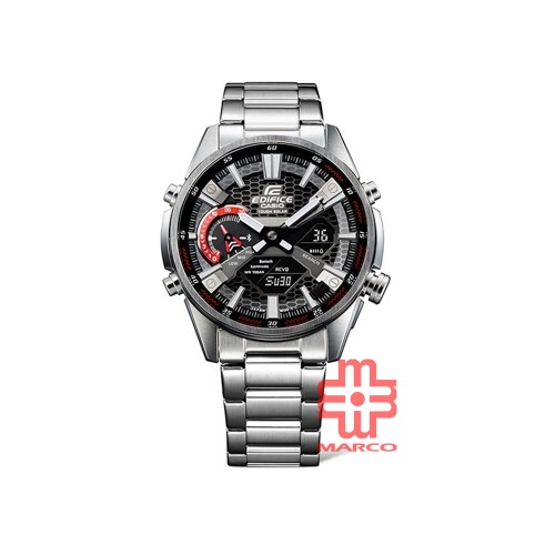 Casio Edifice ECB-S100D-1A Silver Stainless Steel Band Men Watch