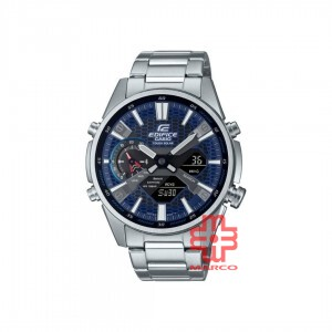 Casio Edifice ECB-S100D-2A Silver Stainless Steel Band Men Watch