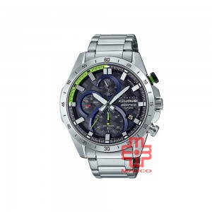 Casio Edifice EFR-571AT-1A Silver Stainless Steel Band Men Watch