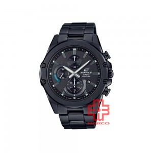 Casio Edifice EFR-S567DC-1A Black Stainless Steel Band Men Watch