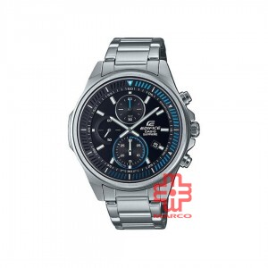 Casio Edifice EFR-S572D-1A Silver Stainless Steel Band Men Watch