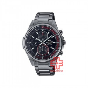 Casio Edifice EFR-S572DC-1A Black Stainless Steel Band Men Watch