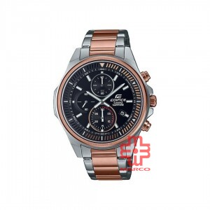 Casio Edifice EFR-S572GS-1A Rose Gold Stainless Steel Band Men Watch
