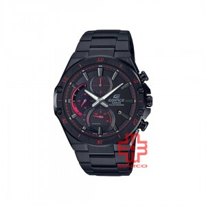 Casio Edifice EFS-S560DC-1A Black Stainless Steel Band Men Watch