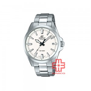 Casio Edifice EFV-100D-7A Silver Stainless Steel Band Men Watch