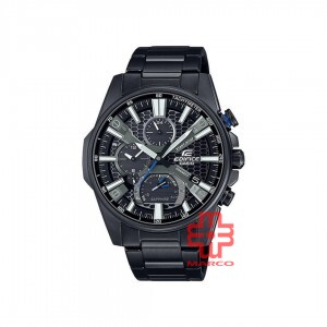 Casio Edifice EQB-1200DC-1A Black Stainless Steel Band Men Watch