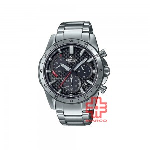 Casio Edifice EQS-930D-1AVUDF Silver Stainless Steel Band Men Watch