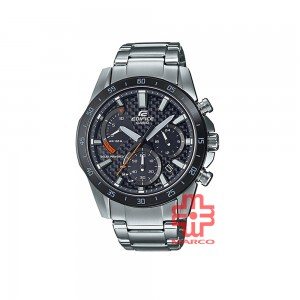 Casio Edifice EQS-930DB-1A Silver Stainless Steel Band Men Sports Watch