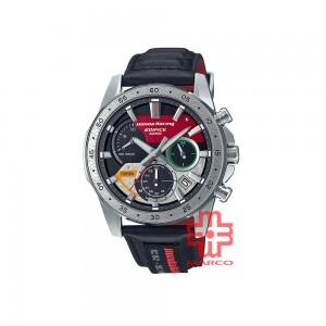 Casio Edifice EQS-930HR-1A Black Leather Band Men Watch
