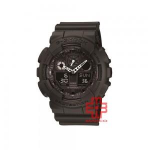 Casio G-Shock GA-100-1A1 Black Resin Band Men Sports Watch
