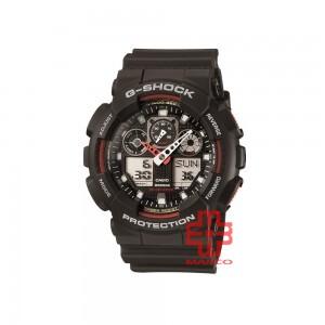 Casio G-Shock GA-100-1A4 Black Resin Band Men Sports Watch