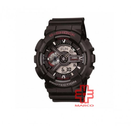 Casio G-shock GA-110-1A Black Resin Band Men Sports Watch