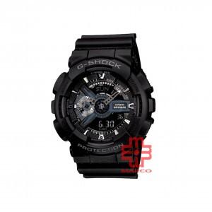 Casio G-shock GA-110-1B Black Resin Band Men Sports Watch