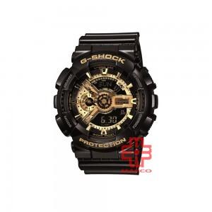 Casio G-shock GA-110GB-1A Black Gold Resin Band Men Sports Watch