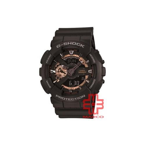 Casio G-shock GA-110RG-1A Black Resin Band Men Sports Watch