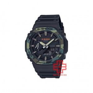 Casio G-Shock GA-2100SU-1A Black Resin Band Men Sports Watch