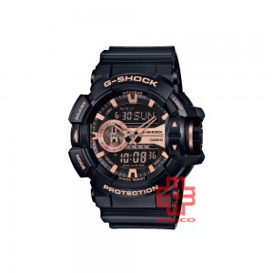 Casio G-Shock GA-400GB-1A4 Black Resin Band Men Sports Watch