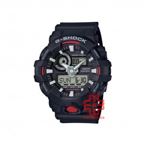 Casio G-shock GA-700-1A Black Resin Band Men Sports Watch