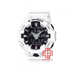 Casio G-Shock GA-700-7A White Resin Band Men Sports Watch