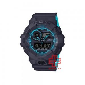 Casio G-Shock GA-700SE-1A2 Dark Blue Resin Band Men Sports Watch